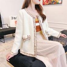 Осенне зимний элегантный кардиган свитер женское изящное вязаное