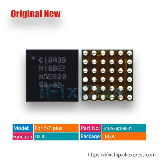 10 قطعة/الوحدة 100% جديد 610A3B 36 دبابيس USB/U2/شاحن/شحن ic آيفون 7/7 plus/7 plus TRISTAR 2 رقاقة