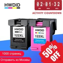 HWDID 122XL เติมหมึกสำหรับ HP 122 สำหรับ Deskjet 1000 1050 2000 2050s 3000 3050A 3052A 3054 1010 1510 2540