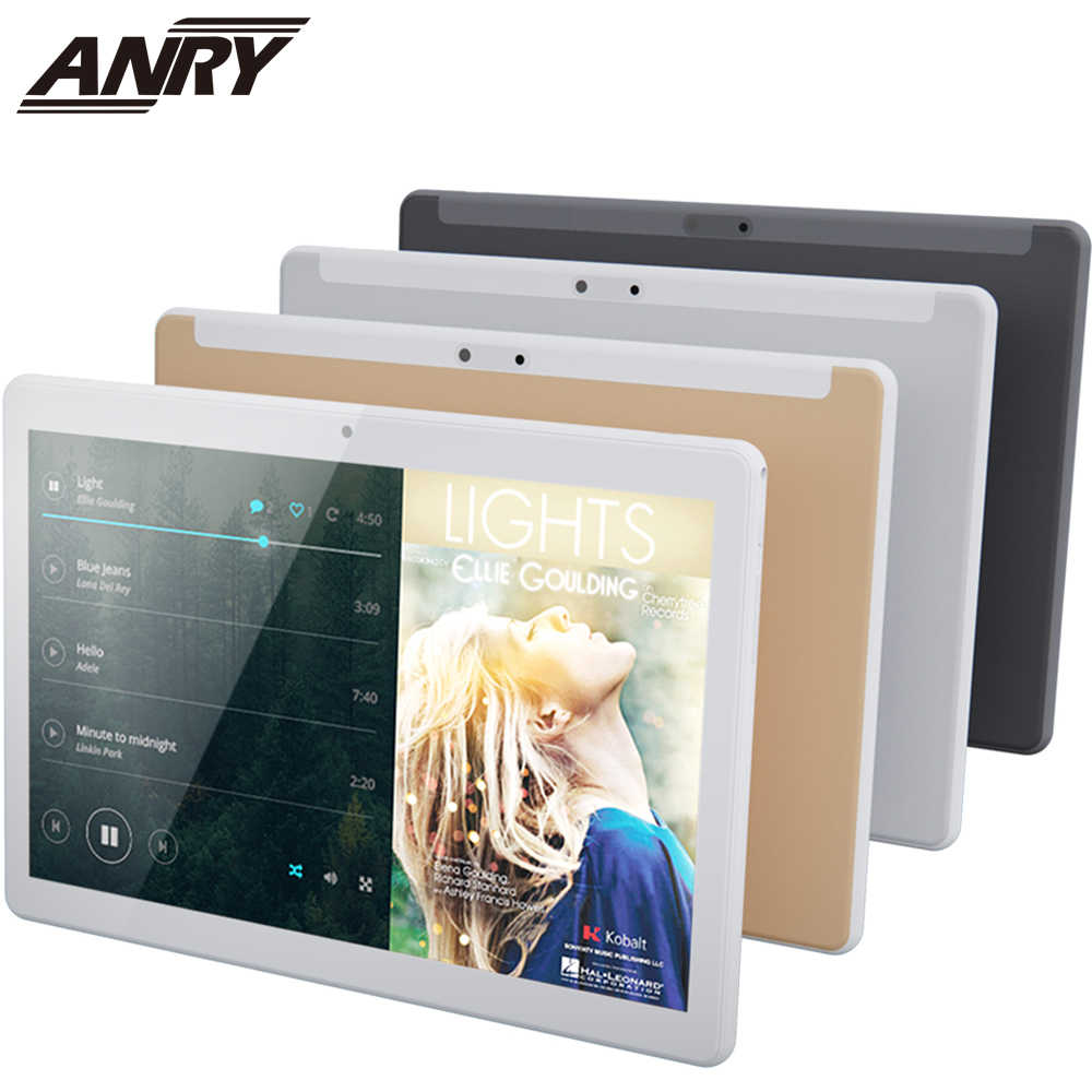 ANRY 10.1 Inch 64GB Touchscreen Tablet Octa Core 1.5GHz Processor 4GB Geheugen Wifi Bluetooth Android 7.0