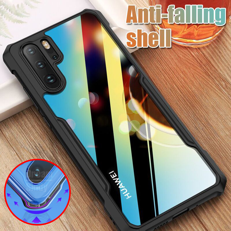 Luxury Soft TPU Bumper Case On The For Huawei P20 P30 Pro Shockproof Case Cover For Huawei P30 P20 Lite Silicone Phone Case
