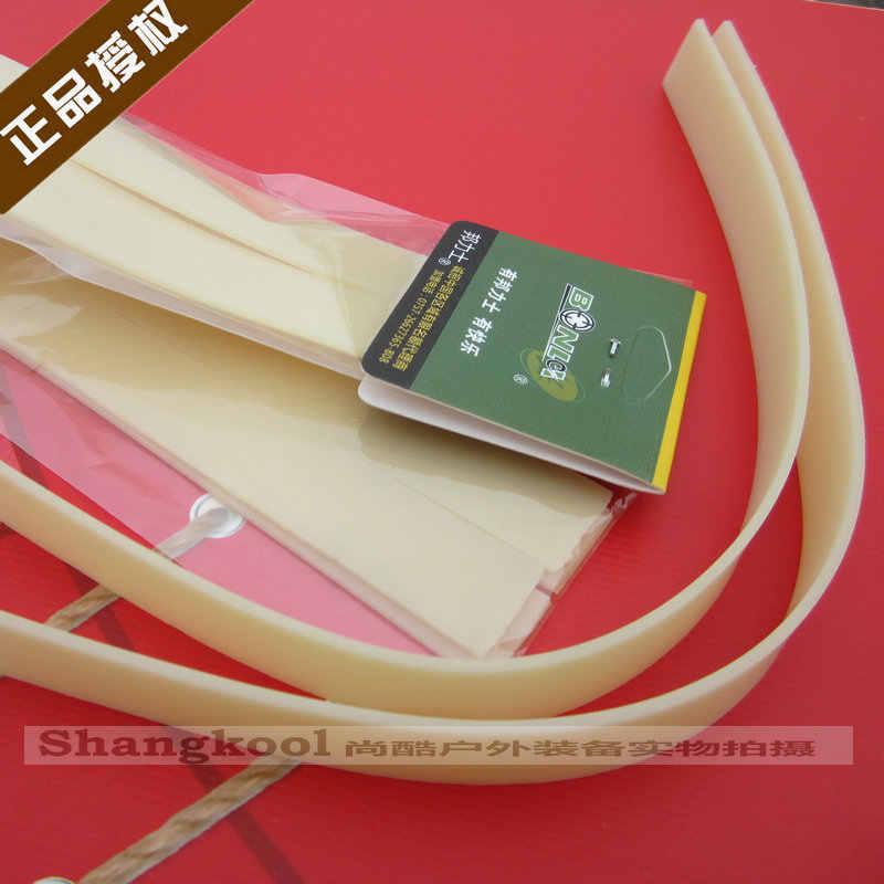 Bonl Brede Platte Slingshot Heer Deng Spanning Band Kegel Non-Rack over-de-Top Deng Fei Hout tijger Haarband