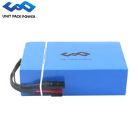 UPP Customized PVC 48V 20Ah Electric Scooter Battery 13S8P 960Wh Go Karts eBike Batteries for 1800W 1500W 1000W 750W 500W Motor