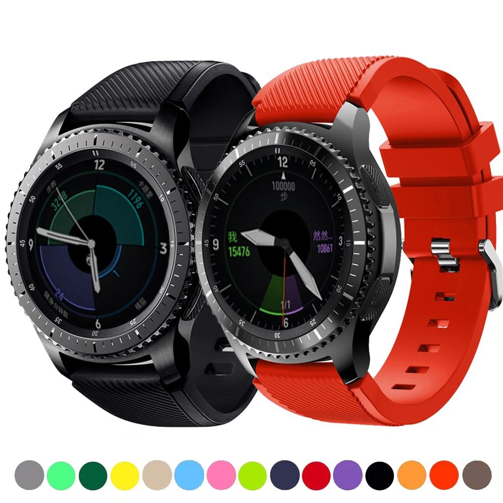 Ремешок 20 22 мм для Samsung Galaxy watch 46 мм/42 мм/active 2 gear S3 Frontier/huawei watch gt 2e/2/amazfit bip/gts