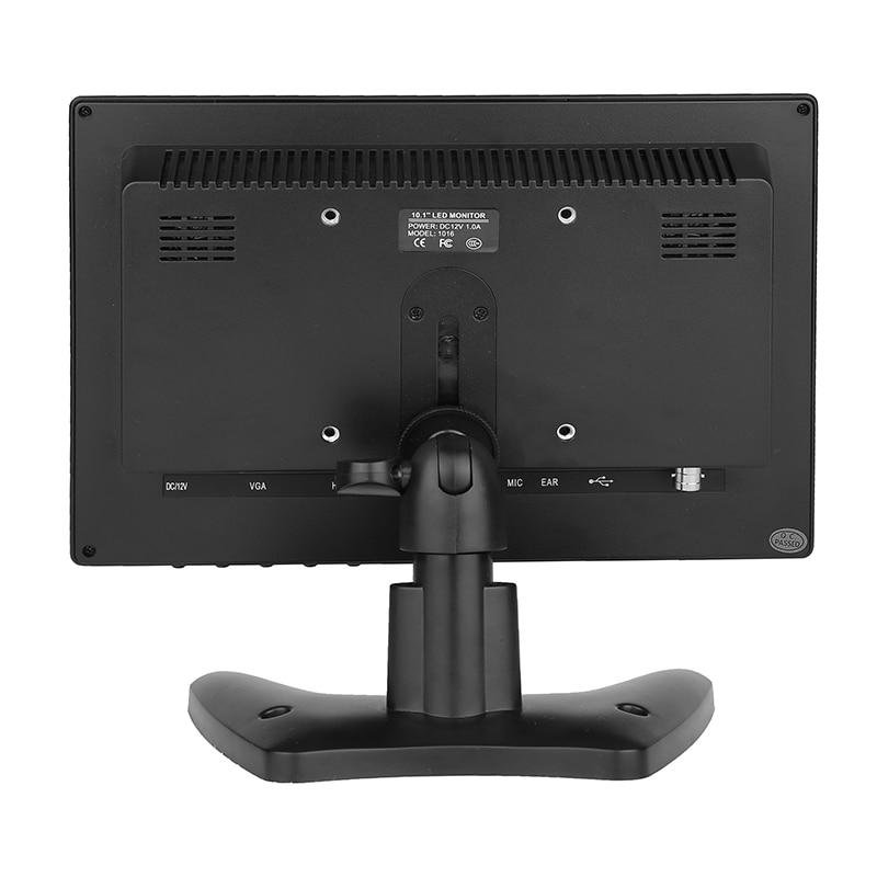 10,1 дюймовый широкоэкранный монитор 1280*800 1920*1200 tft небольшой дешевый hdmi vga монитор с динамиками - 5