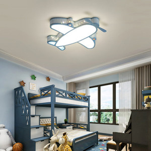 Image 4 - Modern Simple Novelty Cartoon Cute Animal LED Kid Airplane Ceiling Light Lamp Nursery Kids Baby Child Room Bedroom Home Lighting