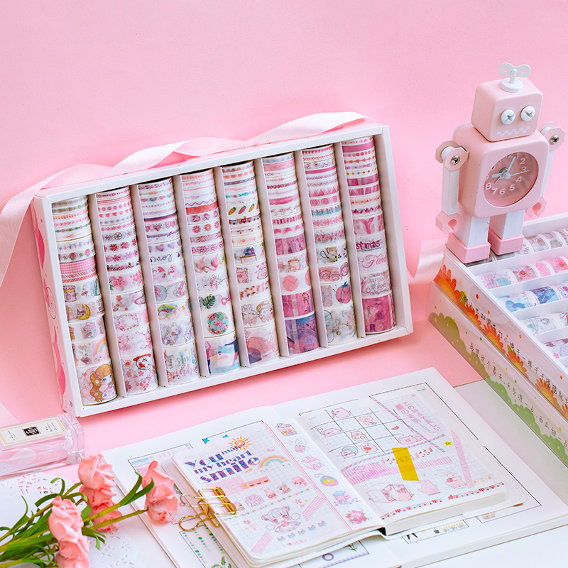 480 PCS/LOT Summer Love Series Paper Decorative Tape Masking Tape Washi Tape