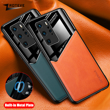 P40 Case Zroteve Coque For Huawei P40 Pro Plus P30 Lite Case P40 Lite 4G 5G PU Leather Cover For Huawei P20 Pro Lite 2019 Cases