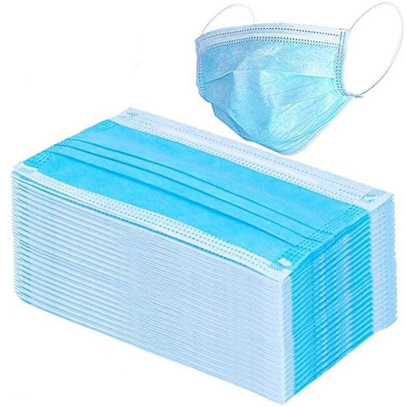 Anti-Dust Dustproof Disposable Earloop Face Mouth Masks 10PCS 20PCS 50PCS 100PCS Facial Protective Cover Masks