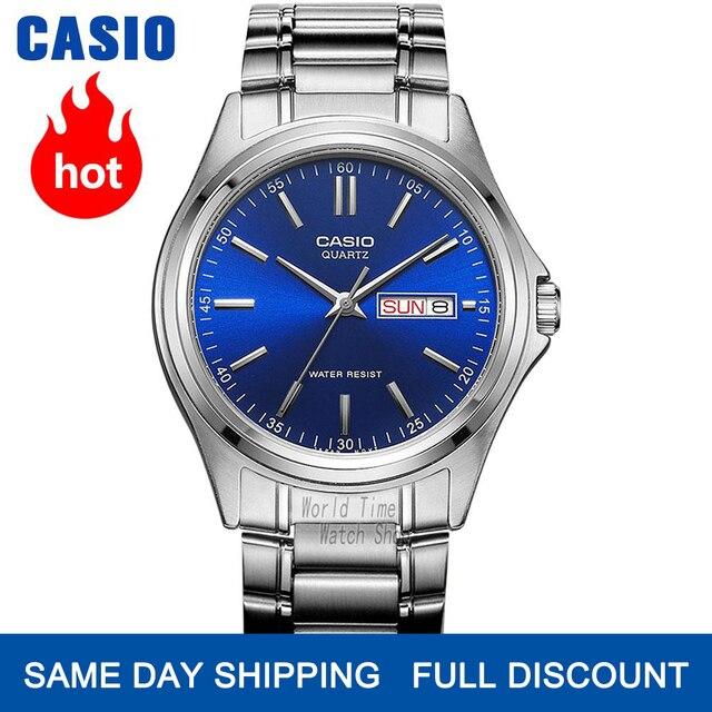Casio שעון גברים פיצוץ למעלה יוקרה סט קוורץ watche 30m עמיד למים גברים שעון ספורט צבאי שעון יד relogio masculino