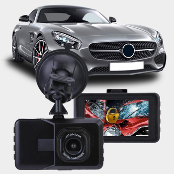 NEW Style 4 Inch LCD Screen 170 Degree Dual Lens HD 1080P Camera Car DVR Vehicle Video Dash Cam Recorder G-Sensor Drop Shipping image