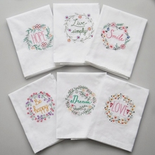 Tea-Towel Napkins for Wedding Party Absorbent Cotton Home Cloth Kitchen Dining-Accessories