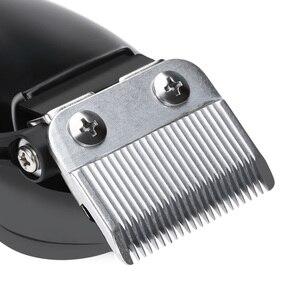 Image 3 - Kemei profesyonel saç düzeltici elektrikli saç kesme saç şekillendirici aracı ayarlanabilir Limit tarak güçlü saç tıraş makinesi D40
