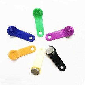 10 sztuk/partia wielokrotnego zapisu RFID Touch Memory key RW1990 iButton do kopiowania kart Sauna dallas keys