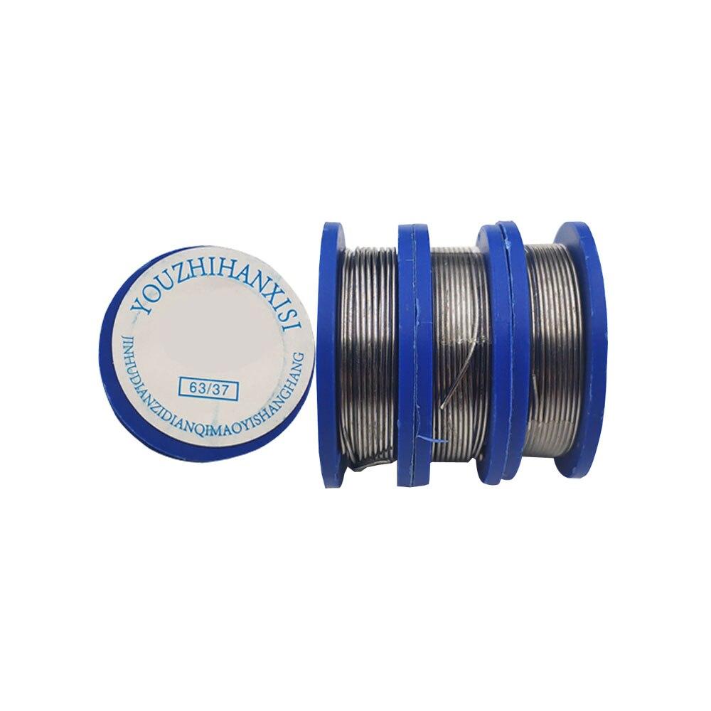 Mini 0.8mm Tin Lead Solder Wire Roll Soldeiring 2.0% Flux Diameter 0.8mm Length 1.7 Meter For PCB Soldering Repair