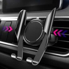 LINGCHEN voiture support de téléphone pour iPhone 11 360 Rotation support voiture évent montage voiture support pour iPhone 7 8 XS Max pour xiaomi