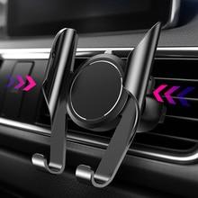 Автомобильный держатель для телефона LINGCHEN, с возможностью поворота на 360 градусов для iPhone 7/8/XS Max/11/xiaomi