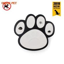 2020 New Pet Dog Ultrasonic Anti Barking Device Repeller Outdoor Dog Anti Bark Control Training  Supplies