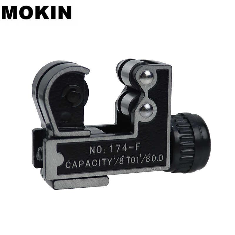 MOKIN 1/8 ''-1-1 1/8'' MINI เครื่องตัดท่อ 3-28 มม.ท่อตัดเฉือนทองเหลืองทองแดงอลูมิเนียม PVC ท่อพลาสติกตัดเครื่องมือ