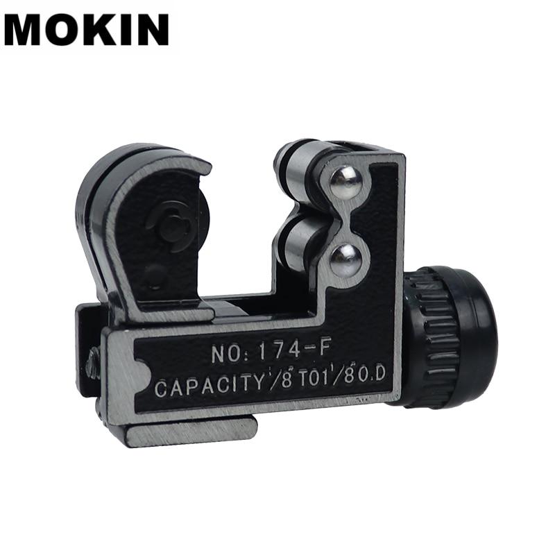 MOKIN 1/8''-1-1/8'' Mini Tube Cutter 3-28mm Pipe Cutter Shear Brass Copper Aluminium PVC Plastic Plumbing Cutting Tools