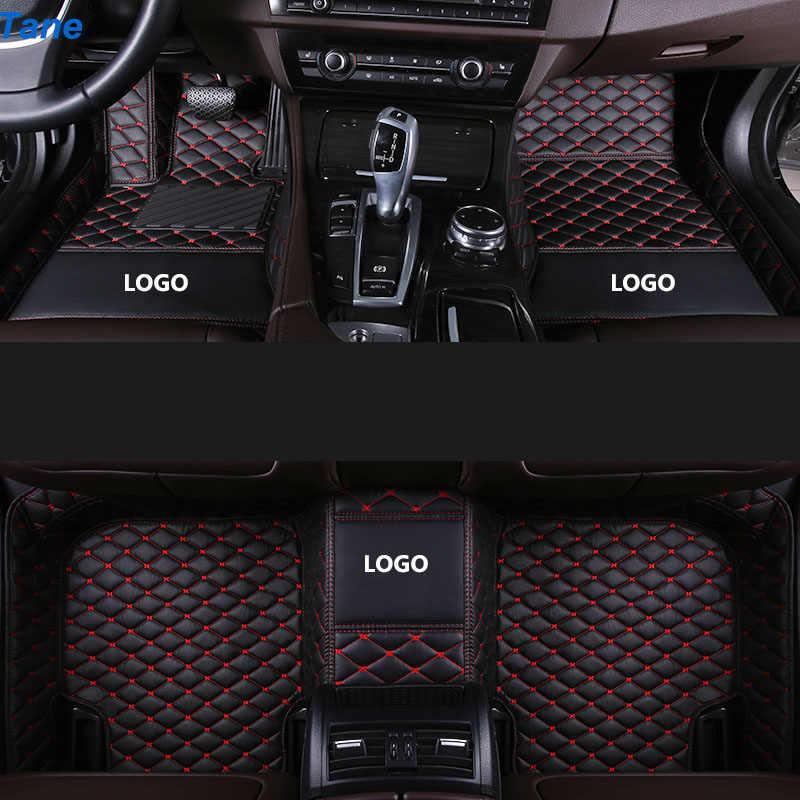 Tane Tappetini Auto in Pelle per Mitsubishi Pajero Sport 2017 Outlander Xl Pajero 4 Outlander 3 Asx Lancer Accessori Tappeto tappeto