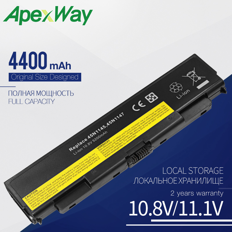 10.8V Laptop Battery For Lenovo ThinkPad T440P T540p W540 L440 L540 45N1145 45N1148 45N1149  45N1150 45N1151 45N1158 45N1159