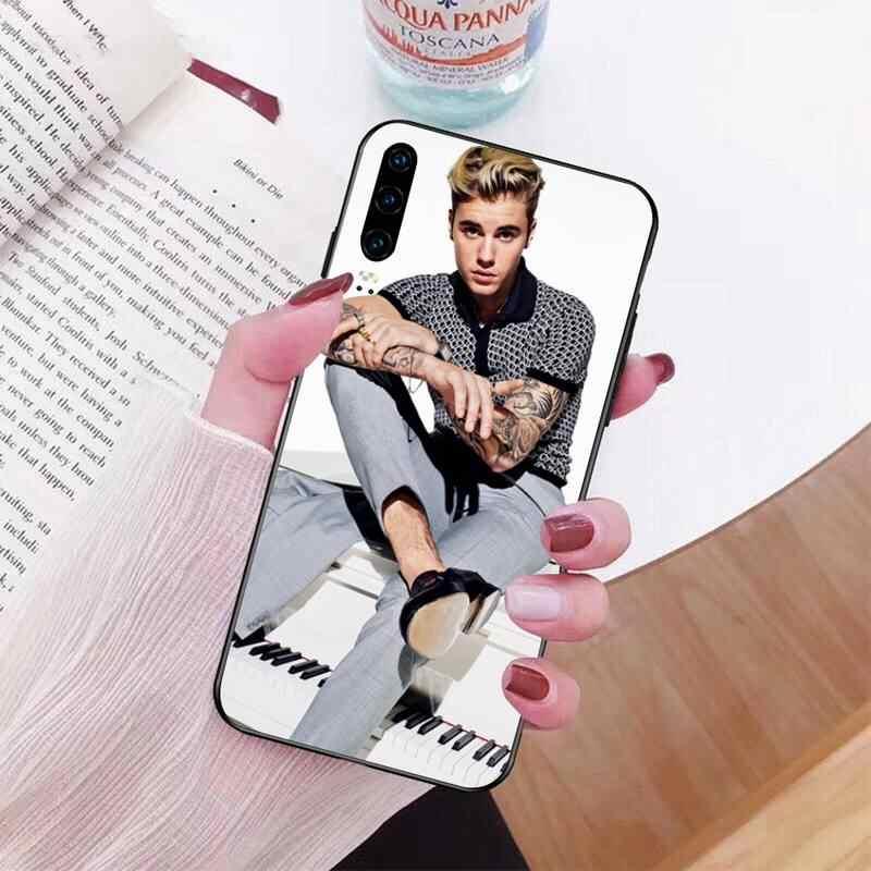 NBDRUICAI justin Bieber โทรศัพท์สำหรับ Huawei P30 P20 Mate 20 Pro Lite สมาร์ท Y9 PRIME 2019