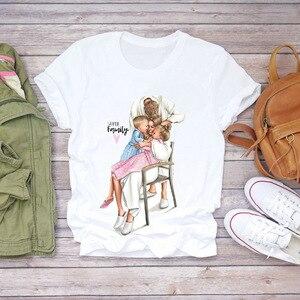 Super mom, fashion and printing shirt, interesting to note that, in the 90 s retro harajuku shirt