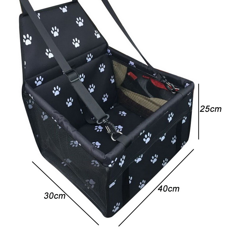 Folding Travel Dog Seat Cover Made With Oxford Cloth Material For Dogs Cats 35