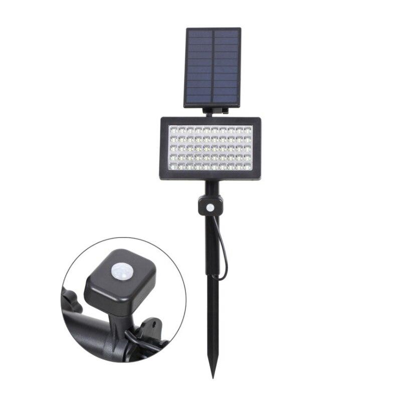 Oufula Solar Gazon Licht Led Sensor Licht Overstroming Licht Outdoor Waterdichte Tuin Tuin Licht - 2