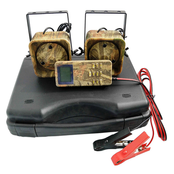 New Hunting Decoy Mp3 Bird Caller Sounds Player Built-In 200 Bird Voice Hunting Decoy 2 Players 50W Animal Caller For Hunting wholesale denmark outdoor hunting decoy 50w decoy loud speaker bird caller hunting bird mp3 with 210 bird sounds