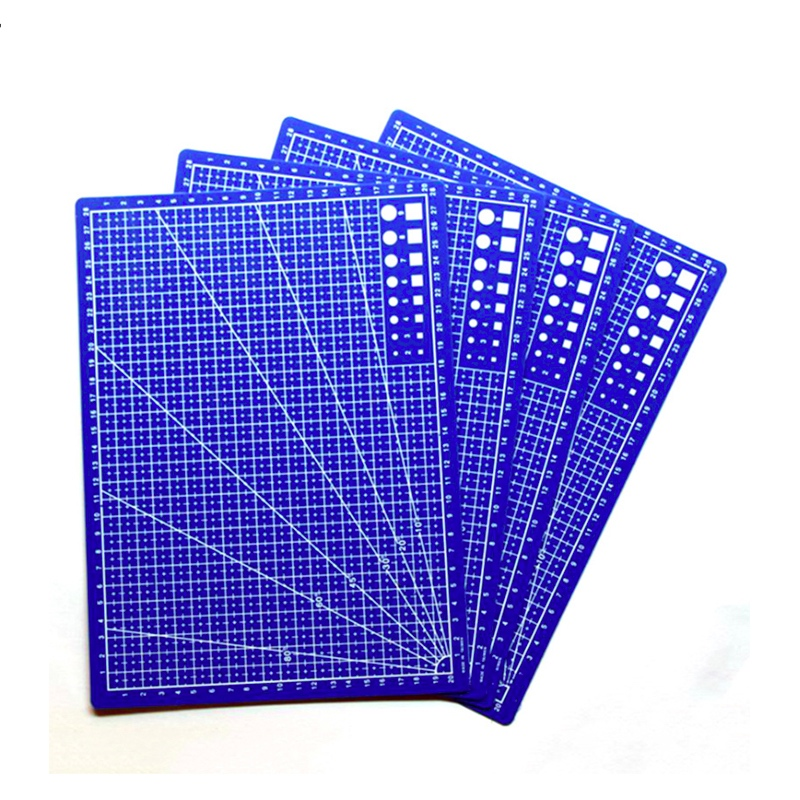 1PC A4 Grid Lines Self Healing Cutting Mat Craft Card Fabric Leather Paper Board