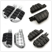 Aftermarket Free Shipping Motorcycle Parts Dually Footpegs For Harley Davidson 2018 later FXBB FXBR FXBRS FXLR 2019 Street Bob