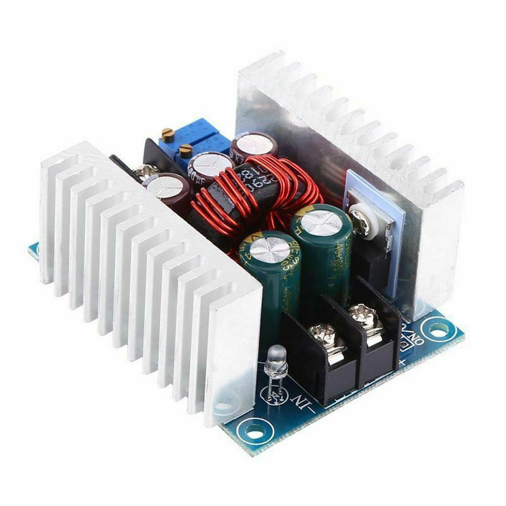 DC 8.5V-<font><b>48V</b></font> Continuously Adjustable DC-DC Converter 10/12/15/20A 150/250/300/400/1200W Step Up/Down Boost <font><b>Adaptor</b></font> Module image