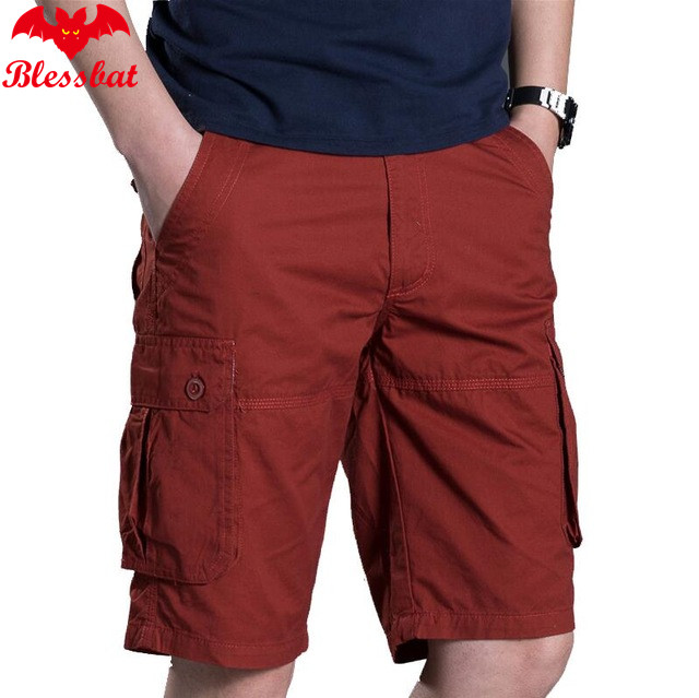 Military Cargo Shorts For Men New Army Camouflage Shorts Brand 2018 Cotton For Men Casual Shorts Working Loose Load Pants 29-38