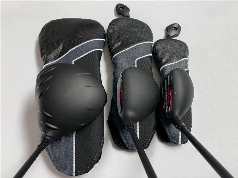 BIRDIEMaKe Golf Clubs 425 Wood Set 425 Golf Woods Driver + Fairway Woods R/S/SR Flex Graphite Shaft With Head Cover