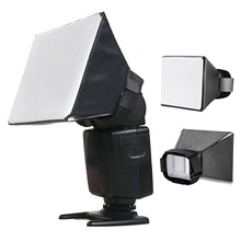 лучшая цена Photography Flash Softbox Diffuser Mini Softbox Kit Camera Photo Beauty Dish Foldable Soft Box For Canon Nikon Sony Speed Light