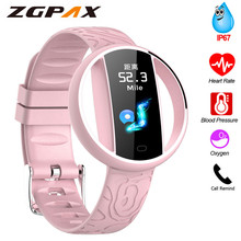 Ip67 Waterproof Smartband E99 Heart Rate Monitor Smart band Women Blood Pressure Oxygen Monitoring Bracelet Men