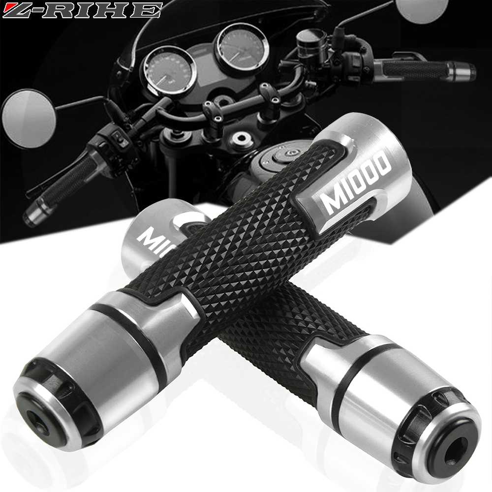 22mm Motorcycle Knobs Anti-Skid Scooter Handle Ends Grips Bar Hand Handlebar For Ducati MONSTER 1000 M1000 M 1000 2000-2005 2004
