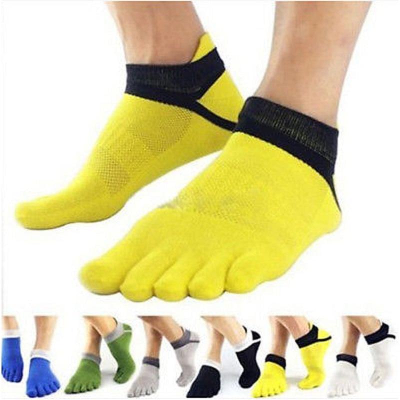 Five-finger Socks Cotton Breathable Mesh Socks Pressure Socks Functional Sports Socks Split Toe Socks