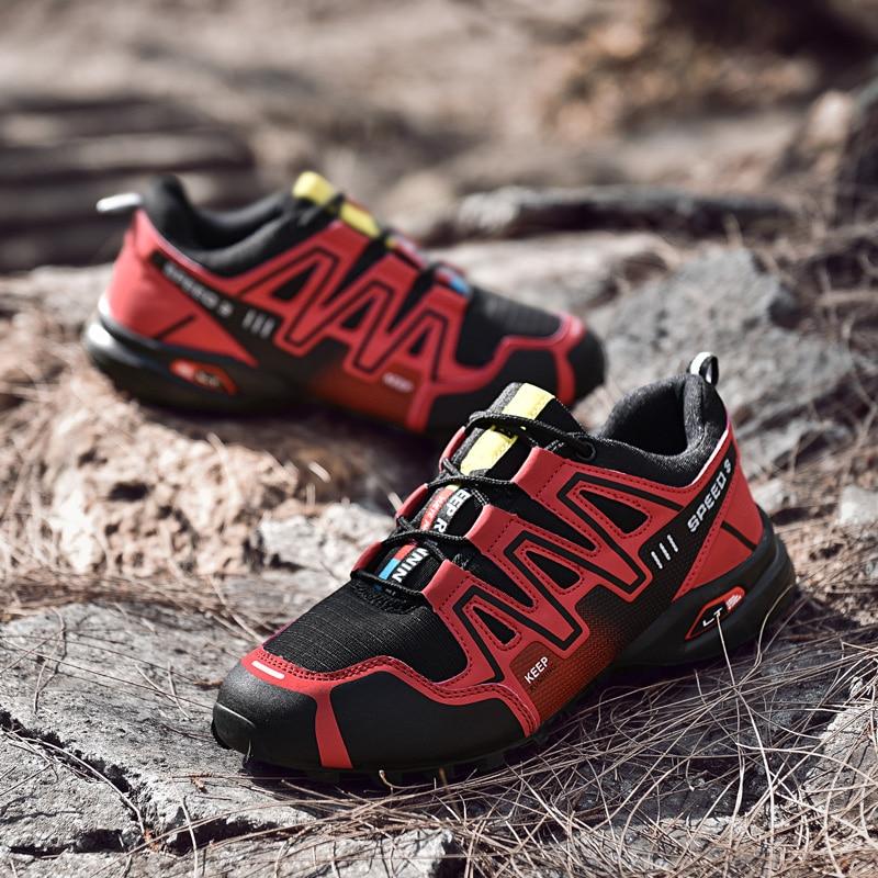 Sainimo Men Shoes Tenis Zapatillas Outdoor Large-Size Solomon Explosive Sneakers Chaussure