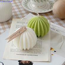 DIY Handmade Candle Mold Round Prickly Pear Scented Candle Plastic Acrylic Mold Clay Mold Candle Making Kit Wax Melt Mold