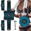 EMS Abdominal Belt Electrostimulation ABS Muscle Stimulator Hip Muscular Trainer Toner Home Gym Fitness Equipment Women Men 1