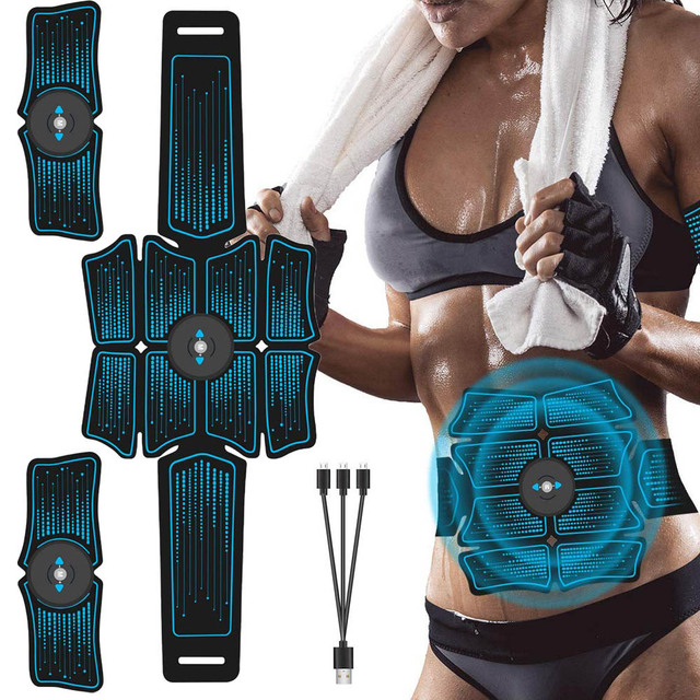 Abdominal Belt Electrostimulation ABS Muscle Stimulator Hip Muscle Trainer