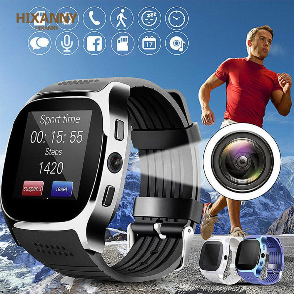 New Bluetooth Smart Watch with Camera Facebook Whatsapp Support SIM TF Card Call Sports Smartwatch for Android Phone PK Q18 DZ09