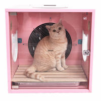 Fully Automatic Pet Drying Box Hair Dryer Dog Cat Hair Dryer Water Blower Bath Artifact Mute hair dryer professional Blow Box