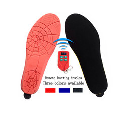 LED Wireless Remote Control USB Rechargeable Power Battery Heating Insoles