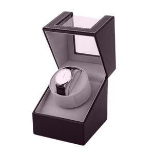 Image 3 - Organizer Display Kist Motor Shaker Houder Automatische Mechanische Horloge Winder Box Kronkelende Case Houder
