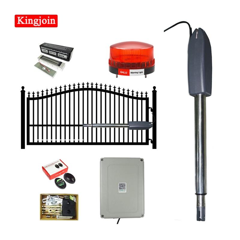 KINGJOIN Electric Door / Door Opener Operation Kit, Heavy Duty 400KG Single Door Automatic Swing Door Motor Kit