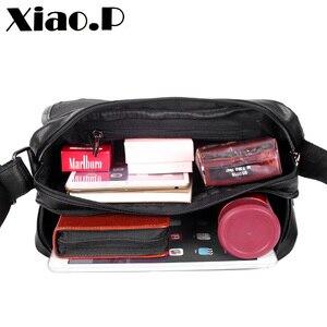 Image 4 - Yeni tasarım erkek çanta, yüksek kaliteli pu deri postacı çantası, moda çapraz vücut çanta, rahat öğrenciler bir omuz okul çantası
